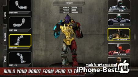 Real Steel [1.18.0] [ipa/iPhone/iPod Touch/iPad]