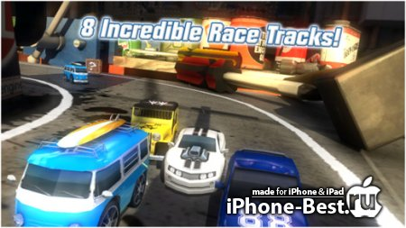 Table Top Racing Premium Edition [1.4] [ipa/iPhone/iPod Touch/iPad]
