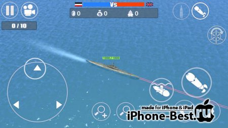 World War II – Battle of the Atlantic [1.0.6] [ipa/iPhone/iPod Touch/iPad]
