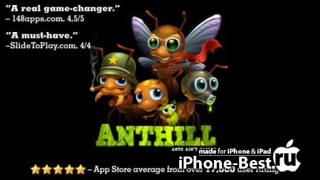 Anthill [4.1] [ipa/iPhone/iPod Touch/iPad]