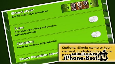 Backgammon Gold PREMIUM [2.6.3] [ipa/iPhone/iPod Touch/iPad]