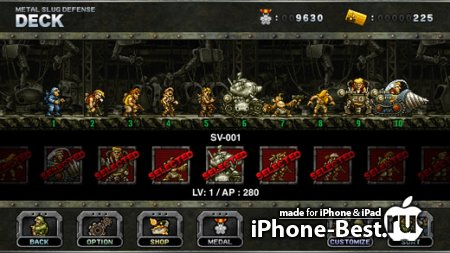METAL SLUG DEFENSE [1.4.4] [ipa/iPhone/iPod Touch/iPad]