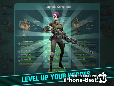 Tactical Heroes – Multiplayer Strategy Battles [1.0.53] [ipa/iPhone/iPod Touch/iPad]