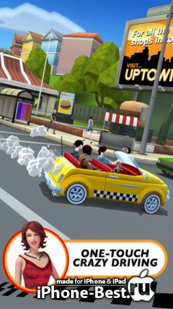 Crazy Taxi™: City Rush [1.0.0] [ipa/iPhone/iPod Touch/iPad]