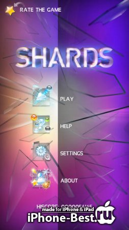 Shards – the Brick Breaker [2.0.0] [ipa/iPhone/iPod Touch/iPad]