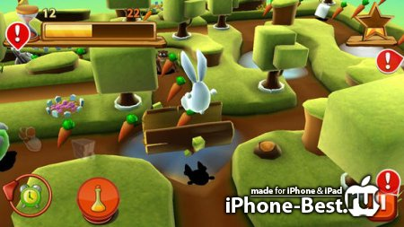 Bunny Maze 3D [1.3.0] [ipa/iPhone/iPod Touch/iPad]