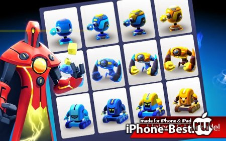 The Bot Squad: Puzzle Battles [1.7.5] [iPhone/iPod Touch/iPad]