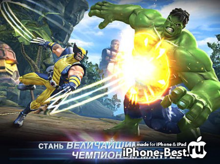 Marvel: Битва чемпионов [1.0.0] [iPhone/iPod Touch/iPad]