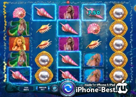 Игровой онлайн Mermaid's Pearls